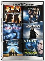 Sci-Fi: 6-Film Collection [New DVD] 2 Pack