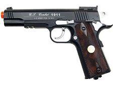 500 FPS NEW FULL METAL WG AIRSOFT M 1911 CO2 HAND GUN PISTOL w/ 6mm BB BBs Heavy
