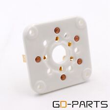 GD-PARTS Gold Plated 5pin U5G Ceramic Tube Socket For 4-400A 4-125 3-500Z 4-400