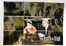 "THE X-FILES SEASON 9 Inkworks 2003 Complete ""TRUTH ON TRIAL"" Chase Card Set (9)"