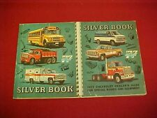 1977 CHEVROLET BLAZER 10 20 30 SILVER BOOK TRUCK BODY DEALER ALBUM SALES 77 OEM
