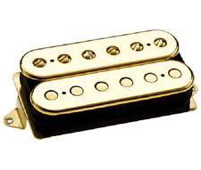 DIMARZIO DP223 PAF 36th Anniversary Bridge Guitar Pickup GOLD CAPS REG SPACED