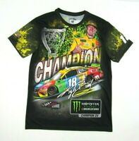 Kyle Busch #18 Nascar T-Shirt Adult Size Med Large or XL New w//Tag