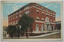 YMCA Greensburg PA on corner of South Maple Ave. & East Pittsburgh St. Postcard