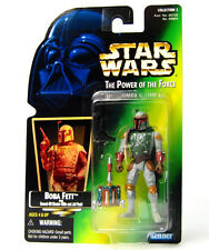 NEW STAR WARS POTF BOBA FETT KENNER USA GREEN CARD FOIL PICTURE 1997 FIGURE