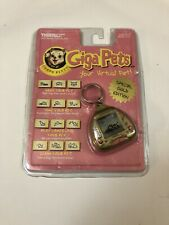 Vintage 1997 Compu Kitty Giga Pet Tiger Electronics Gold edition new sealed