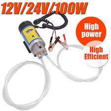 100W Electric Oil Transfer Extractor Fluid Diesel Pump Siphon Car Motorbike 12V
