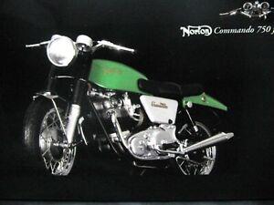 WOW EXTREMELY RARE Norton Commando 750 Fastback 1968 Green CBS#2 1:12 Minichamps