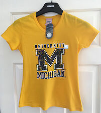Majestic Athletic Size Small Yellow T-Shirt Tee