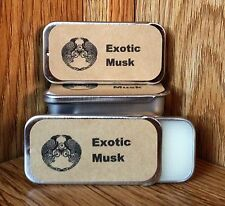 Exotic Musk - Solid Perfume Balm