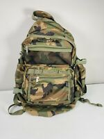 Camo Everest Multi-pocket Backpack Camping Hiking Outdoors