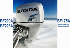 HONDA MARINE OUTBOARD WORKSHOP SERVICE REPAIR MANUAL BF175A, BF200A &  BF225A