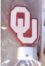 OKLAHOMA University OU NIGHT LIGHT NCAA Collectible NEW Crimson Cream SOONERS