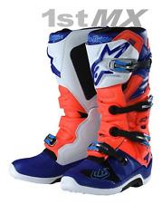 Alpinestars Tech 7 TLD SE Red Blue White Motocross MX Boots Adult UK7 US8