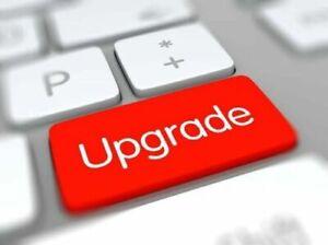 UPGRADE SERVICE FOR FLIR E4, E5, E6, E8, xt   RESOLUTION, MENU, FIRMWARE UPGRADE