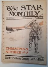 """RARE AMERICAN (ILLINOIS) """"THE STAR MONTHLY-DEC. 1905"""" INTERESTING ADVERTISEMENTS"""
