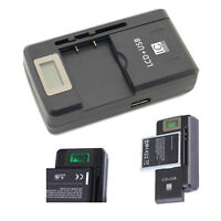 Universal LCD Battery Charger Adapter for BLACKBERRY STYLE 9670 FM1 F-M1 F-S1