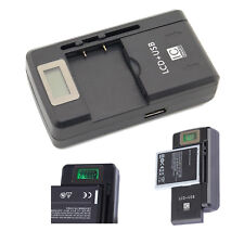Universal LCD Battery Charger for Nokia Lumia X6 X1-00 C3-00 Asha 200 201 302