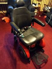 Pride Jazzy Elite HD Mobility Chair, Red, Excellent Condition, New Batteries