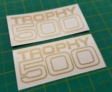 Triumph Trophy 500  side panel / tool box  / Tank  restoration decals stickers