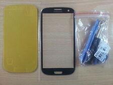 Kit riparazione completo Vetro per Schermo AZZURRO per Samsung Galaxy S3 I9300