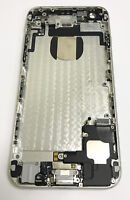 Genuine Used Original Apple iPhone 6 Back Rear Housing Cover with Parts - Silver