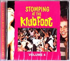 Stomping At The Klub Foot-Best of Psychobilly Vol4 CD NEW Frenzy/Guana Batz Live