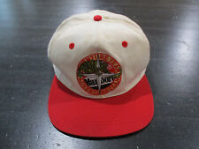 VINTAGE Marlboro Snap Back Hat Cap White Adventure Team Lizard Mens 90s *