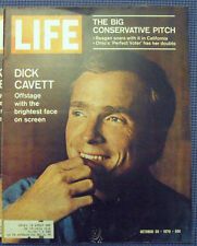 October 30, 1970 LIFE Magazine Dick Cavett old ads ad + FREE SHIPPING Oct. 10 31