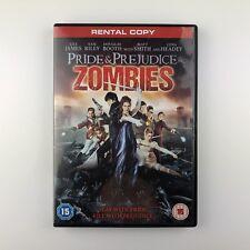 Pride & Prejudice & Zombies (DVD, 2016) r