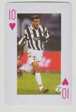 Football World Cup 2006 Playing Card single - Zinedine Zidane Real Madrid France