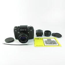 M42 EXA 1C black Kamera, SLR, + Prisma + waist level + 50mm Pentacon lens ...