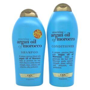 OGX Renewing + Argan Oil of Morocco Shampoo 19.5 Oz & Conditioner 25.4 Oz Set