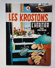 Les Krostons Tome 4 - L'héritier - DELIEGE  - EO -TBE