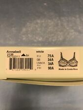 46c577d7b5 NEW Amoena  2126 Annabell Masectomy Bra White SIZE 34A