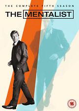 The Mentalist - Season 5 (DVD) Simon Baker, Robin Tunney, Owain Yeoman