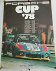 """Original Vintage RARE Porsche Race Poster """"Porsche Cup 78"""" (1978)"""