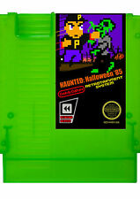 Haunted: Halloween '85 NES Nintendo Homebrew Video Game Zombie Green Cartridge