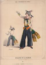 Costumi dell'Opera di Parigi, Corsaro della Marne 1860 litografia