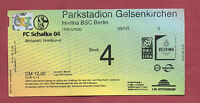 Orig.Ticket   1.Bundesliga  1999/00   FC SCHALKE 04 - HERTHA BSC BERLIN  !!