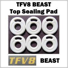 6 - TFV8 BEAST Top Sealing Base Pad ORings ( ORing O-Ring smok Gasket Seals )