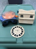 Vintage Red GAF Viewmaster 3D View-Master with Reels and Extra With Pinocchio