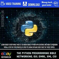 The Python Programming Bible: Networking, GUI, Email, XML, CGI - Video Training
