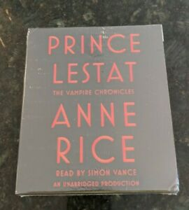 Prince Lestat by Anne Rice Audiobook On CD. NEW