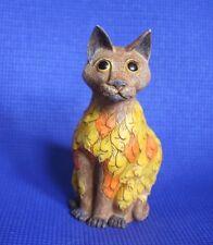 David Winter's Wonderland ~ Harmony Kingdom Artist ~ 'Tickles'  Cat Fish
