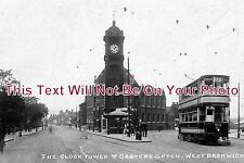 ST 25 - The Clock Tower & Carters Green, West Bromwich, Staffordshire