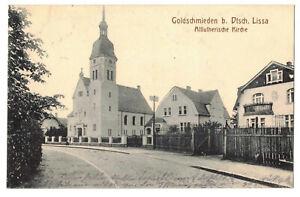 Ak Goldschmieden Deutsch Lissa Altlutherische Kirche 1915 Feldpost IR 103 !