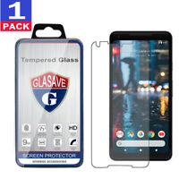 """GLASAVE Tempered Glass Screen Protector Saver For """"Google Pixel 2 XL"""""""