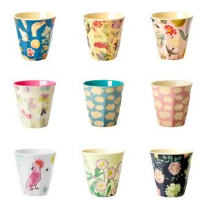 Rice DK Melamine Cup - Medium Printed Cup 9cm x 9cm  - Choose from  60 Designs