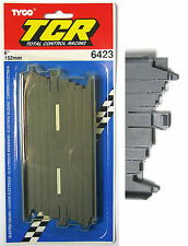 """1pc TYCO TCR Slot less Car Total Control Race TRACK 6"""" STRAIGHT B5898 6423 Card"""